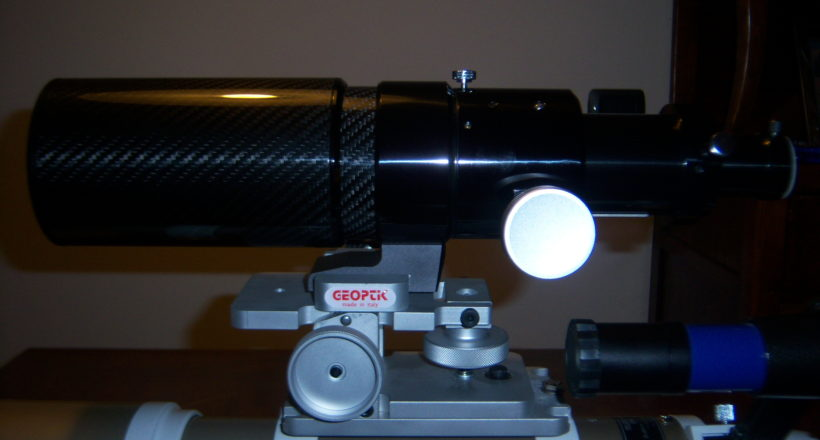ED 70 Carbon &skywatcher ED 80 Disassatore Geoptik