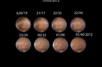 Marte seeing 5/10 h 5,21 di rotazione