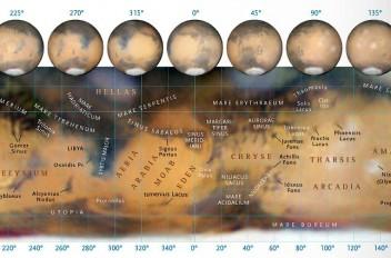 Mappa Marte