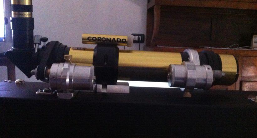 Coronado Solarmax 40 mm con autofocus autocostruito