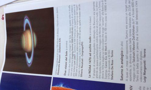 Coelum 06/2012 Saturno