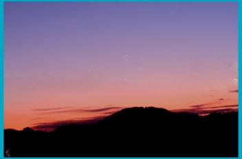 Congiunzione Venere Giove Mercurio 2013 05 27