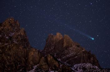 Giorgia Hofer cometa lovejoi