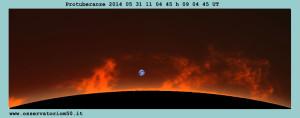 Protuberanze 2014 05 31 h
