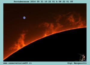 Protuberanze 2014 05 31