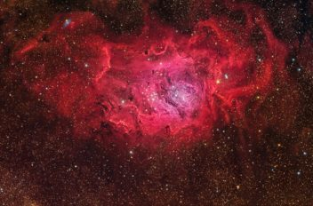 M8 nebulosa Laguna di Maurizio Cabibbo