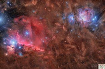 Nebulosa Testa di cavallo  e dintorni Maurizio Cabibbo