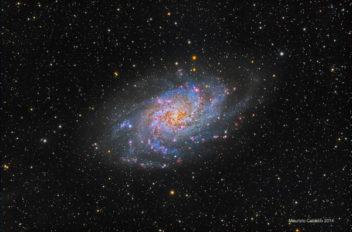 M33 gallassia nel triangolo Maurizio Cabibbo