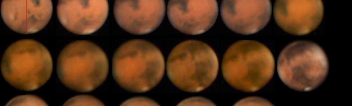 Rotazione Marte 2012