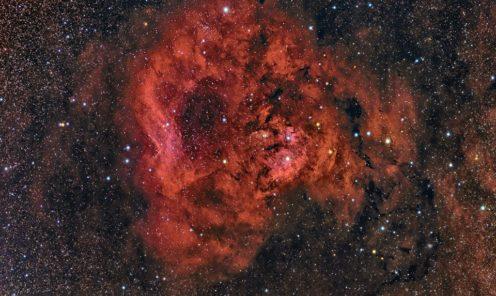 NGC 7822 e Cederblad 214  Autore Maurizio Cabibbo
