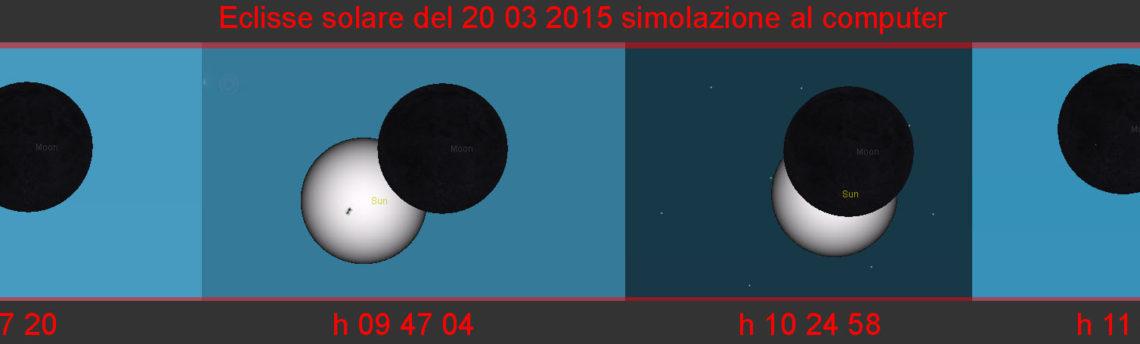 Eclissi di Sole del 20 03 2015
