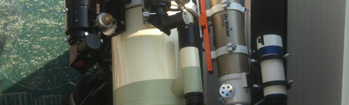 #Takahashi mewlon 250 – ED 80 – ED 70 carbon – SolarMax H-alfa 40 mm SolarMax Ca-K 70 mm montatura EQ8 Skywatcher