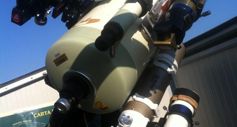 #Takahashi Mewlon Dall' Kirkham 250 mm - ED 80 Sky Watcher - Coronado SolarMax ED 70 mm  Ca-K- Coronado SolarMax H-alfa 40 mm  ED 70 Carbon e 2 cercatori montatura EQ8