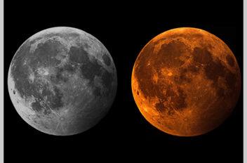 Eclissse parziale di Luna 07 08 2017