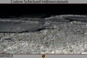 Cratere-Schickard tridimensionale