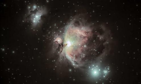 Nebulosa di Orione M 42 17 11 2017
