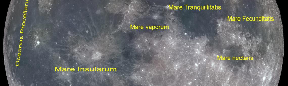 Nomenclatura Mari Lunari