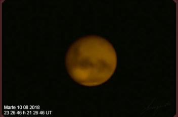 Marte 10 08 2018