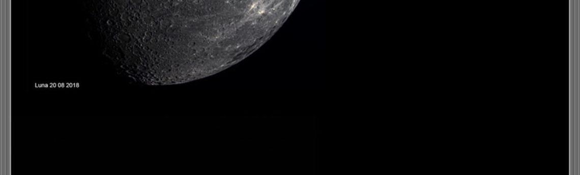 I nostri pianeti più la Luna in una sola serata