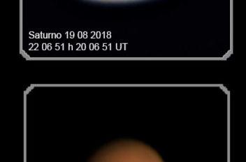 Saturno Marte 19 08 2018