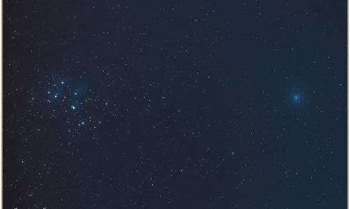 Wirtanen 46P Pleiadi