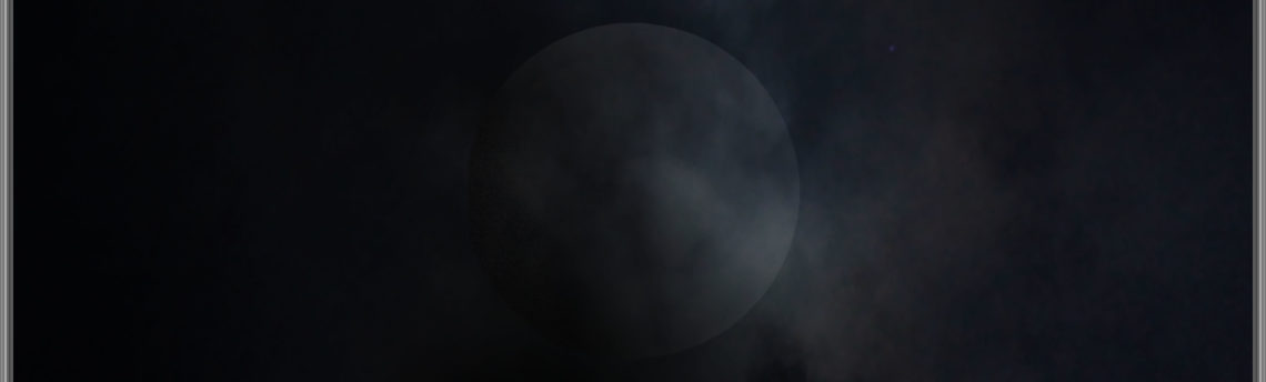 Inizio eclissi
