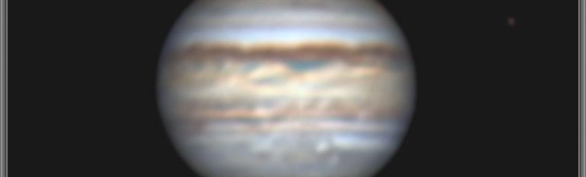 Giove satellite Europa 25 06 2019