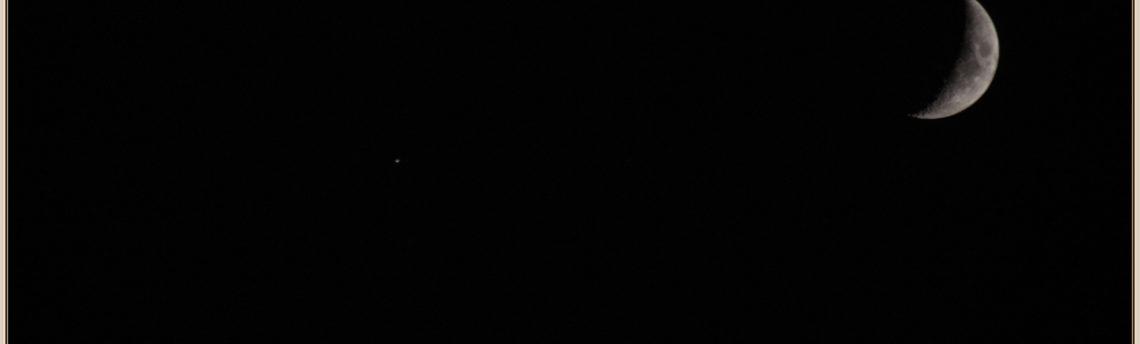 Congiunzione Giove Luna 03-10-2019