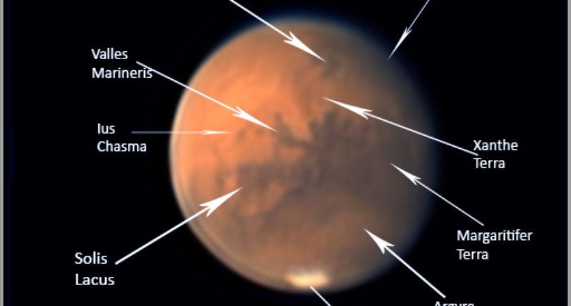 Nomenclatura Marte 2020