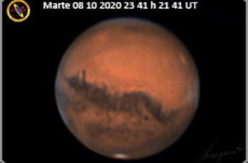 Marte 08 10 2020 23 41 h 21 41 UT